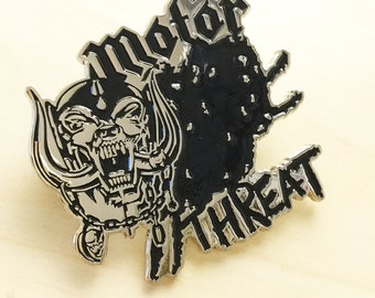 Motör Threat Enamel Pin