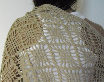 Light Beige Shawl