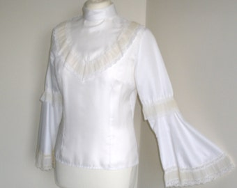 1960's White Blouse