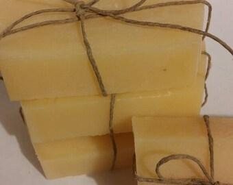 Yellow Lemon Citrus Handmade Cold Process All Natural Soap