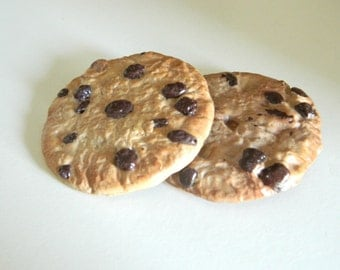 Polymer Clay Chocolate Chip Cookie Magnet