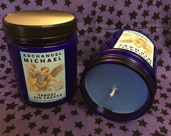 5th Chakra Candle - Archangel Michael Candle