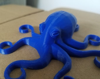 Magnetic Octopus 3D Printed Fridge Magnet,Cute,Geeky,Nerdy,Gift,Ocean,3D Printed,Cool