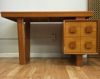 1950's Vintage Modern Floating Desk Attributed to Paul Laszlo SOLD