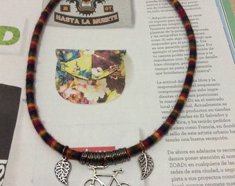 Bike lovers necklace