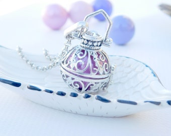 Maternity Necklace Bola Necklace  Pregnancy Chime