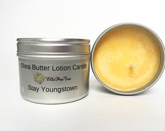 Massage oil candle - Lotion candle -