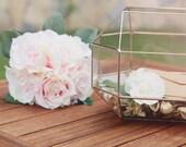 Glass Card Box, Large Terrarium, Geometric Jewelry Box, Conservatory Envelope Holder, Wishing Well Box, Sweetheart Table, Wedding Decor
