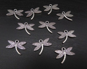 Charm Dragonfly - 10 Pieces (CHDF)