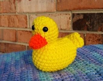 Crochet Ducky Plushie