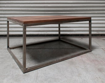 Walnut coffee table  Etsy