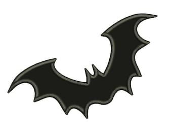 Bat Halloween Appliqué Designs Batman Machine Applique Embroidery Designs 7 Size - INSTANT DOWNLOAD