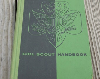 Girl Scout Handbook from 1957
