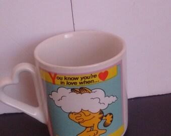 Garfield You Know Love Clouds COFFEE Mug
