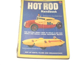 Hot Rod Handbook #126 - 1951 - Hop Up - Racing - Automobile Memorabilia - Atomic Age - Modified Cars