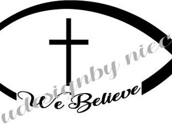 Christian Fish Symbol svg,dxf,eps  files...Instant Download