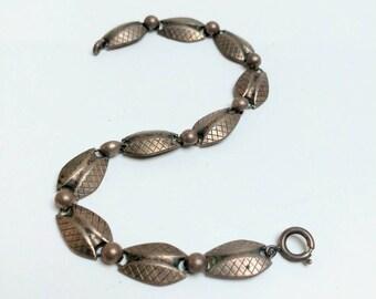 Modernist 60s Kordes & Lichtenfels bracelet silver 835 K&L designer retro gift