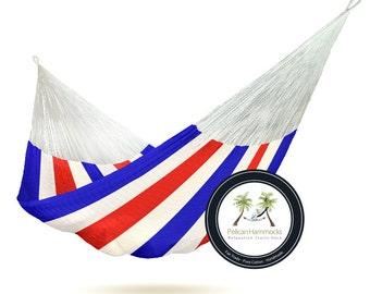Freedom Hammock - 100% Hand Woven - Pelican Hammocks