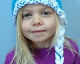 Ice Queen Hat w/Braid