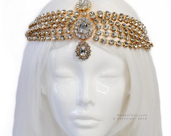 Nez Gold Headpiece