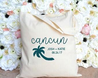 Cancun, Mexico - Destination Wedding Welcome Bag