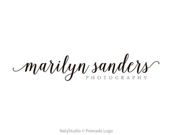 Typography logo photography logo calligraphy logo handwritting logo text only logo