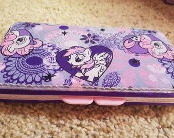 My little pony diaper wipe case