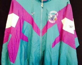 Charlotte Hornets Vintage Jacket - Size 2XL