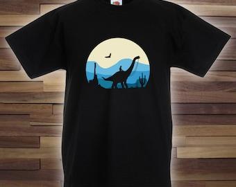 Cowboy Brontosaurus - Birthday Shirt 4 Kids & Adult Dinosaur Lovers, Dinosaur Gift, Gift for Dinosaur Fans, Cowboy T, Funny Bodysuit CT-099
