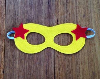 Girls Superhero Mask - Supergirl wonderwoman Costume
