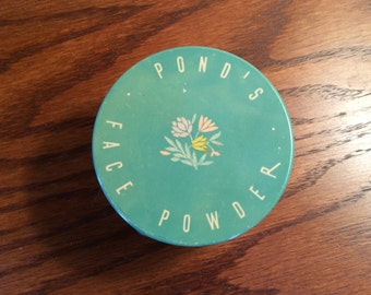Vintage Pond's Face Powder Jar