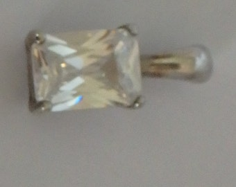 Sterling Silver Quartz Pendant