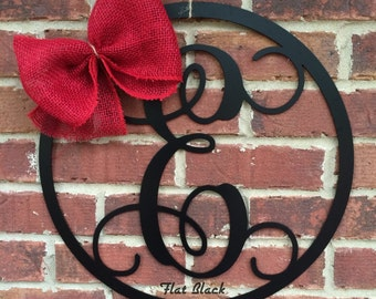 Add A Burlap Bow Your Choice of Color