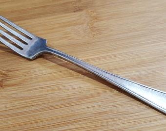 """Antique MERIDEN Silver 1929 DESOTO Dinner Fork 7 1/2"""""""