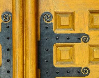 Old City Hall doors