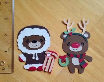 Christmas teddy bears 2
