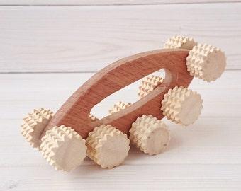 Massager For Body - Massager For Back - Wood Massager - Massage Roller - Relax - Reflexology Tool - Gift - Health Massage - Relax Massage