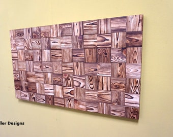 Wall art - wood - reclaimed wood wall art