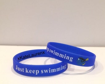 Finding Dory bracelet (Just keep swimming)