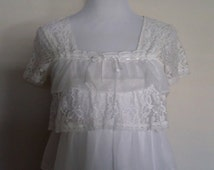 White Steampunk top, lace peasant top, babydoll blouse, babydoll lace top, size XS S