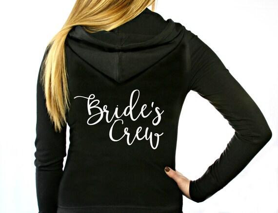 Bride's Crew Hoodie