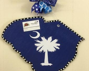 South Carolina door hanger