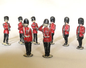 Set of 10 Vintage Toy Soldiers