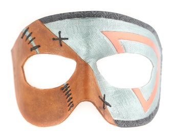 Two-tone Stitches Mask