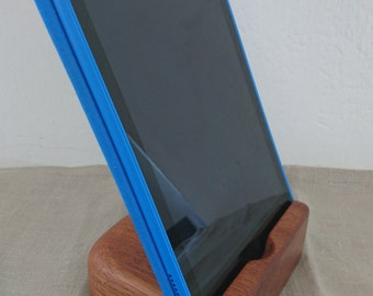 Reclaimed wood iPad / tablet stand