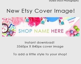 Etsy Cover Photo / Etsy Cover Image / Premade Etsy Banner / Premade Cover Photo / Shop Banner / Cover Image / Stock Photo / Style-114