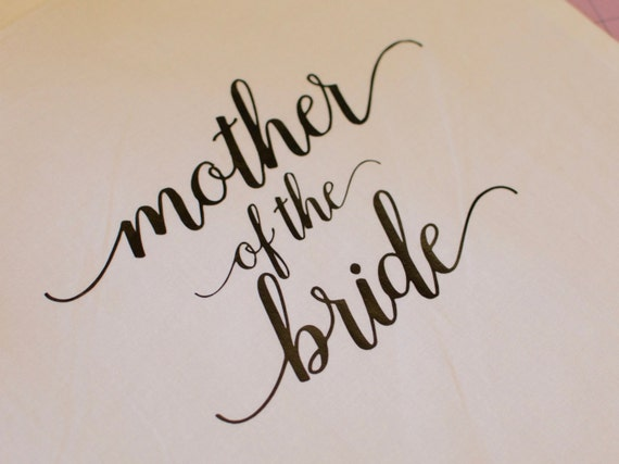 Mother of the Bride Tote, Wedding tote, Mother of the Bride Gift, Welcome bag, wedding bag