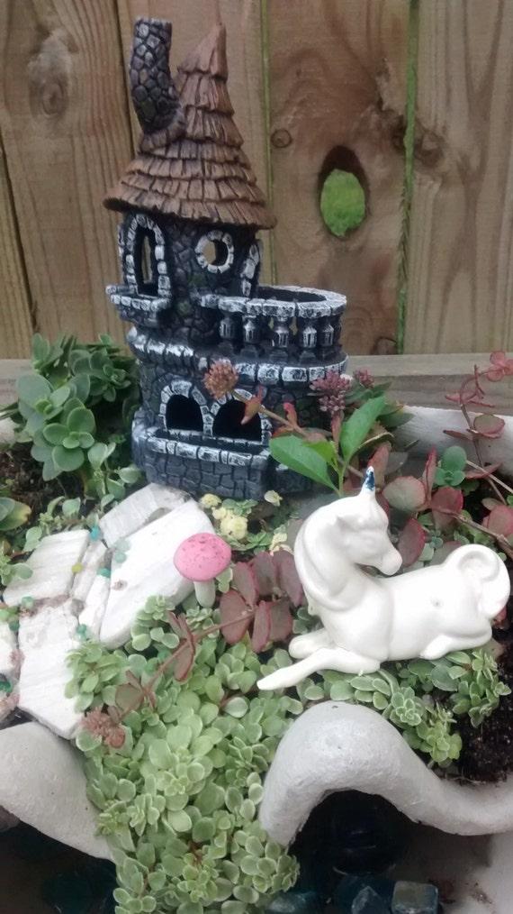 Castle Fairy House Miniature Garden Gnome By