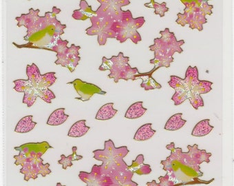 Cherry Blossom Stickers - Hallmark - Reference A3034
