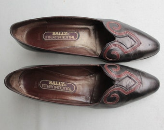1960's Bally Shoes - Size Eu40